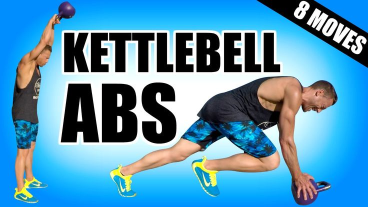 8 KETTLEBELL EXERCISES FOR ABS   Best Abs Exercises With Kettlebells For...