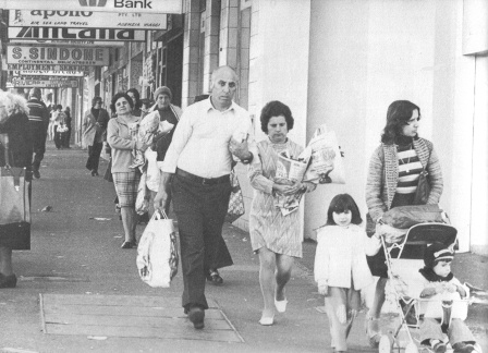 Saturday Morning Shopping in Parramatta Road in the 1950s