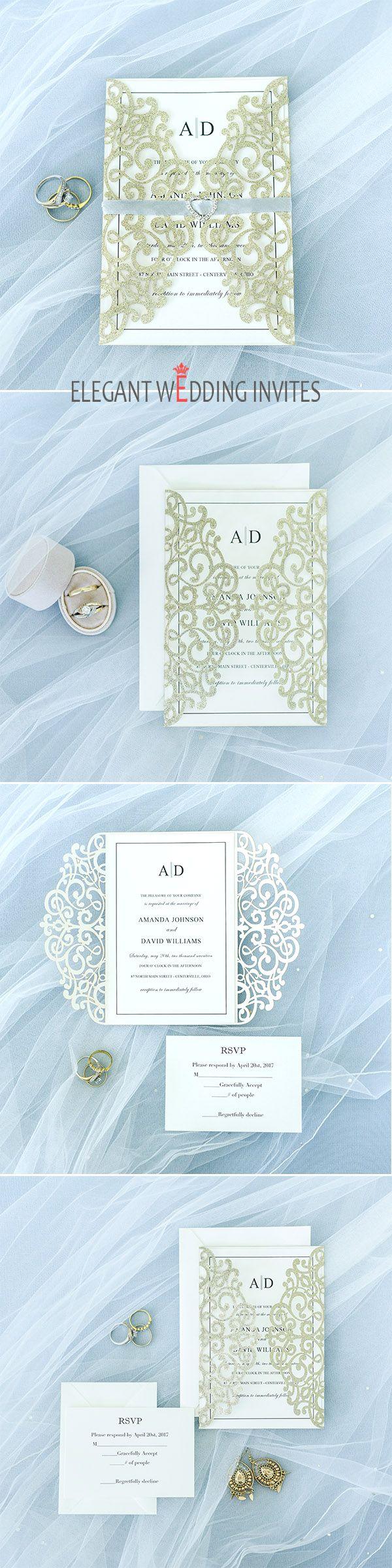 100 Rhinestone Buckle For Wedding Invitations