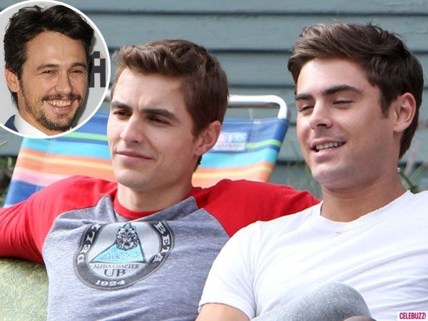 James Franco Pokes Fun at Gossip Sites, Says His Brother Dave Franco is Dating Zac Efron