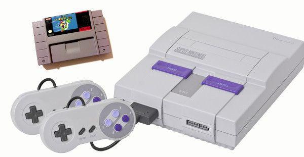 Super Nintendo System with Super Mario World Bundle