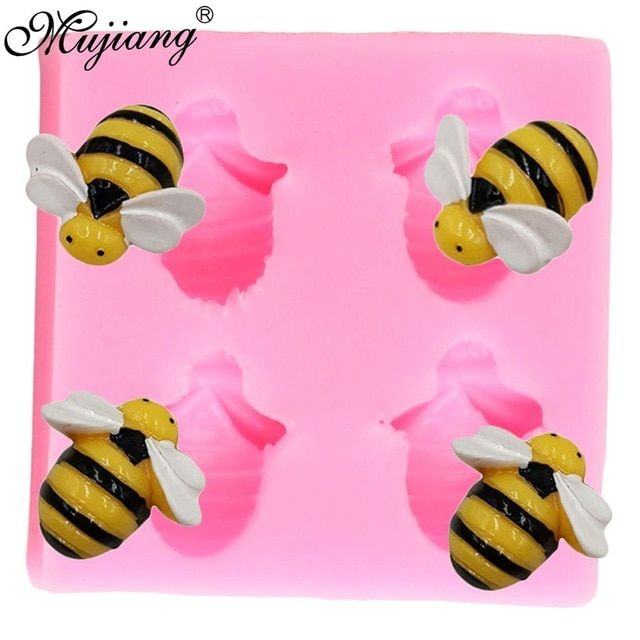 Dragonfly Silicone Mould Resin Clay Molds Cupcake Topper Cake Decorating Tools