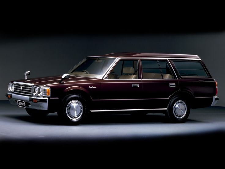 japanese-cars-since-1946 Toyota Crown Station Wagon - 1984