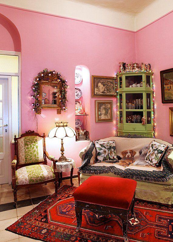 Paradeisos Amarousiou, Athens, Greece. A house like a fairytale !
