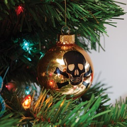 Create A Unique Christmas Tree This Year With These Rock Nu0027 Roll Skull  Ornaments. Combine Your Two Favorite Holidays When Your Add A Bit Of  Halloween Magic ...