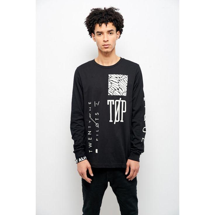 Emblem Long Sleeve Shirt   Official Twenty One Pilots Store