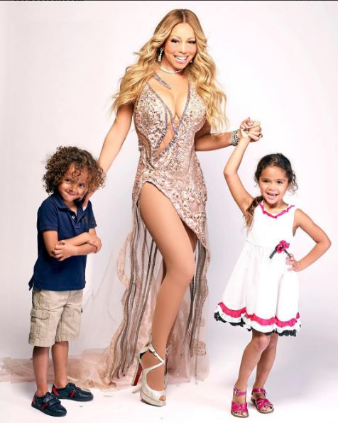 Mariah Carey Shares Stunning Photo With Her Kids