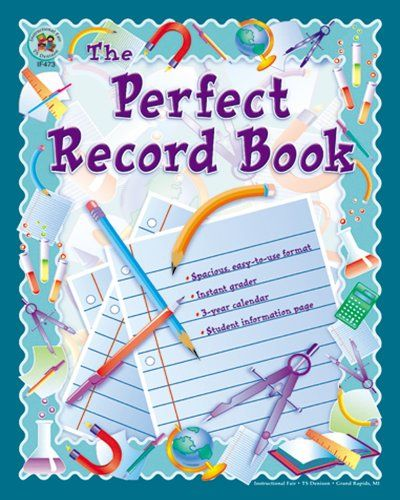 Carson Dellosa Instructional Fair The Perfect Record Book Record/Plan Book (074240028X), 2015 Amazon Top Rated Class Records & Lesson Books #OfficeProduct