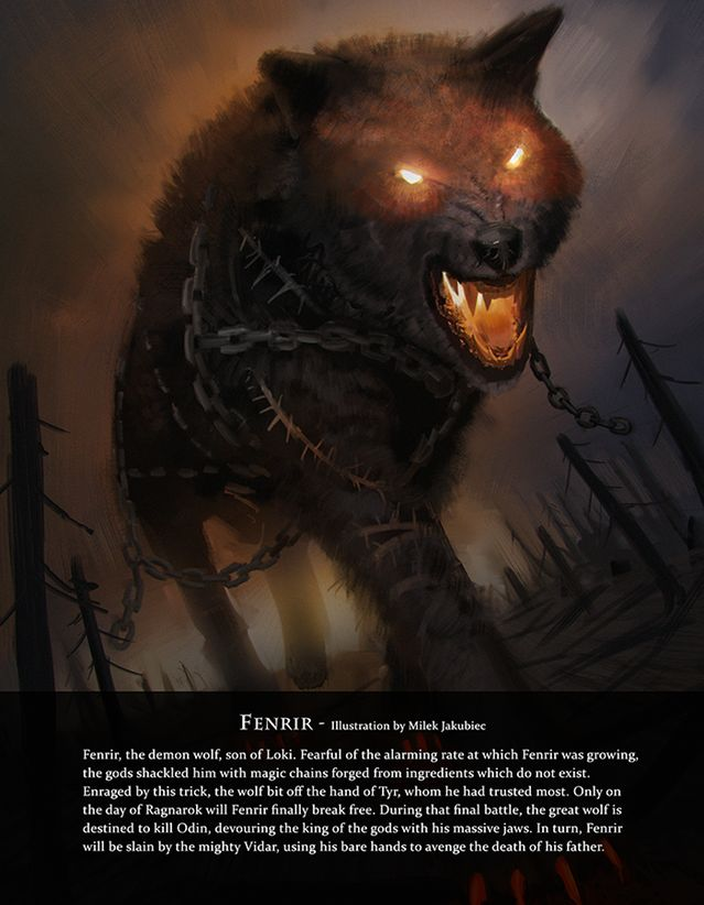 i love the dark fire orange look in his eyes and the chains over his body to show this is one tough wolf