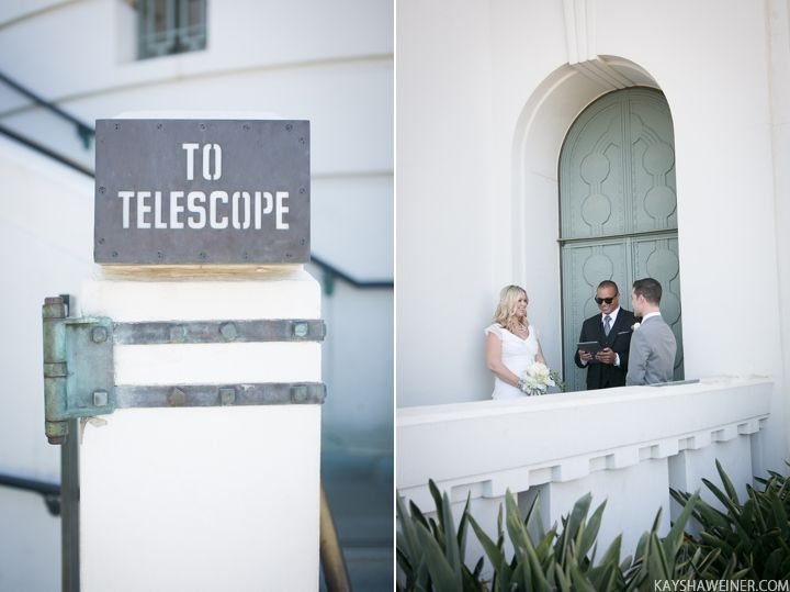 Griffith Observatory Wedding Griffith Observatory Wedding Griffith Observatory Space Wedding