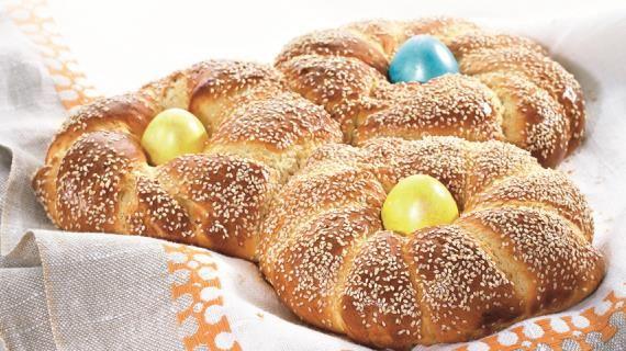 Греческий пасхальный хлеб. Пошаговый рецепт с фото, удобный поиск рецептов на Gastronom.ru