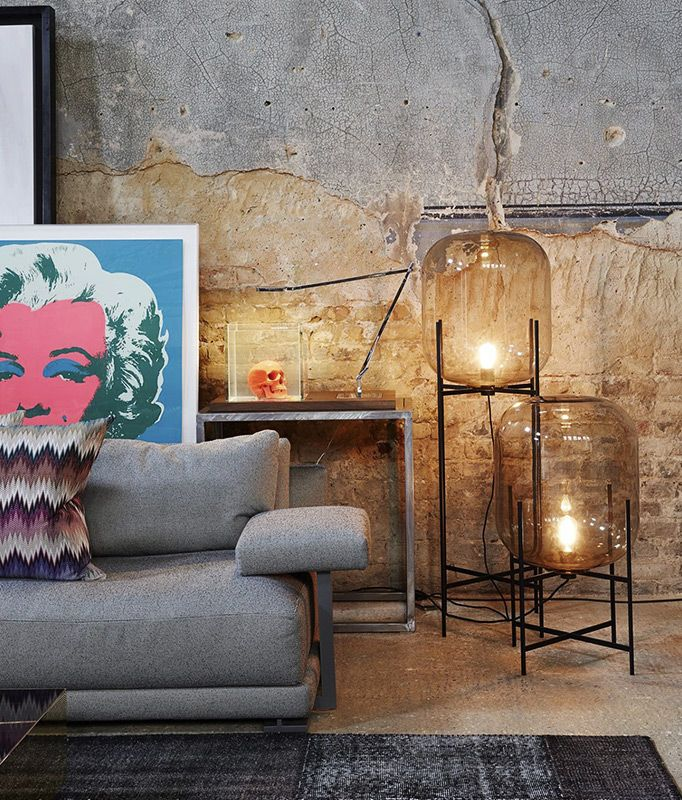 """""""The Italian designer Maurizio Pellizzoni, in collaboration with GQ Magazine for the July 2016 issue, was given carte blanche to turn a partly ruined Georgian chapel in London into the ultimate bachelor pad."""" Read the full story at http://www.bang-olufsen.com/en/stories/bachelor-pad"""