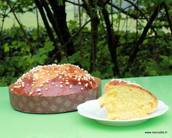 #meilleures #recettes #pâques Un dessert traditionnelle : La Mouna, brioche de Pâques par Mercotte,une recette qui est donc forcément la meilleure