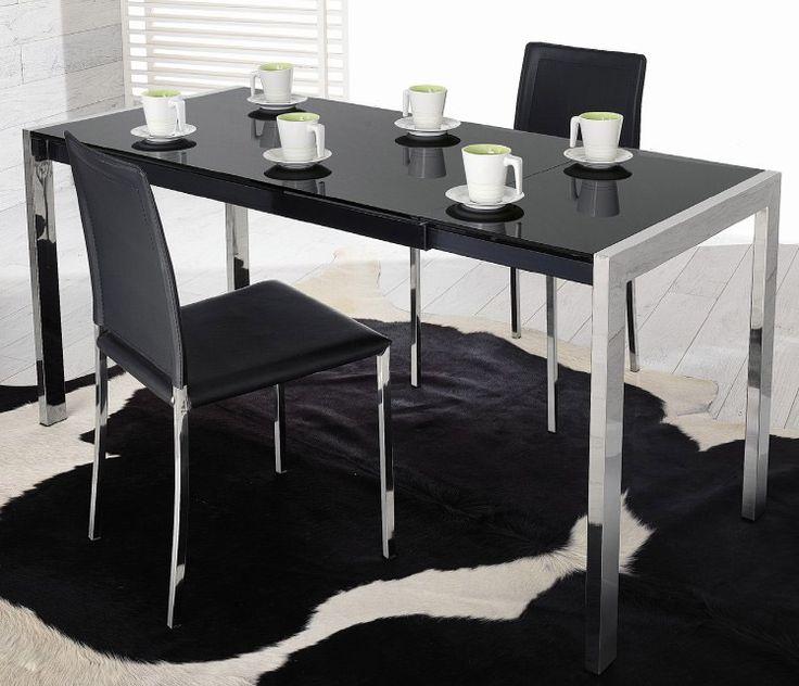 Tavolo Allungabile in Vetro Modello Linda Complementi e illuminazione, Tavoli, Zona giorno, Tavoli