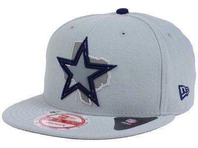 Dallas Cowboys NFL TC State Flec 9FIFTY Snapback Cap Hats