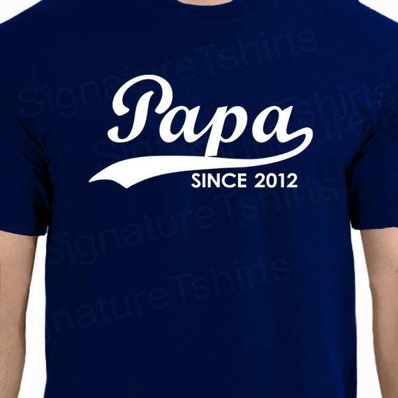 PAPA depuis personnalisé avec n'importe quel par signaturetshirts