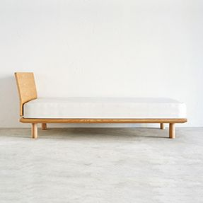 Natural Ash Platform Bed