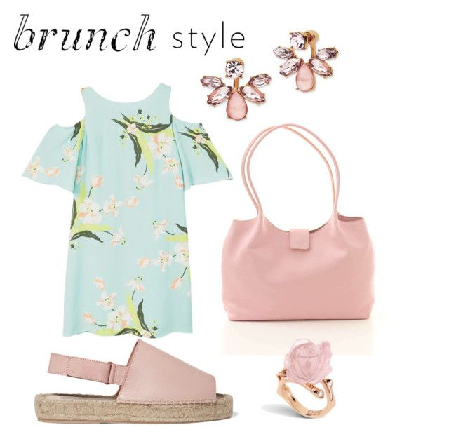 """""""Moms brunch"""" by nadialitsa ❤ liked on Polyvore featuring Marchesa, MANGO and 8"""