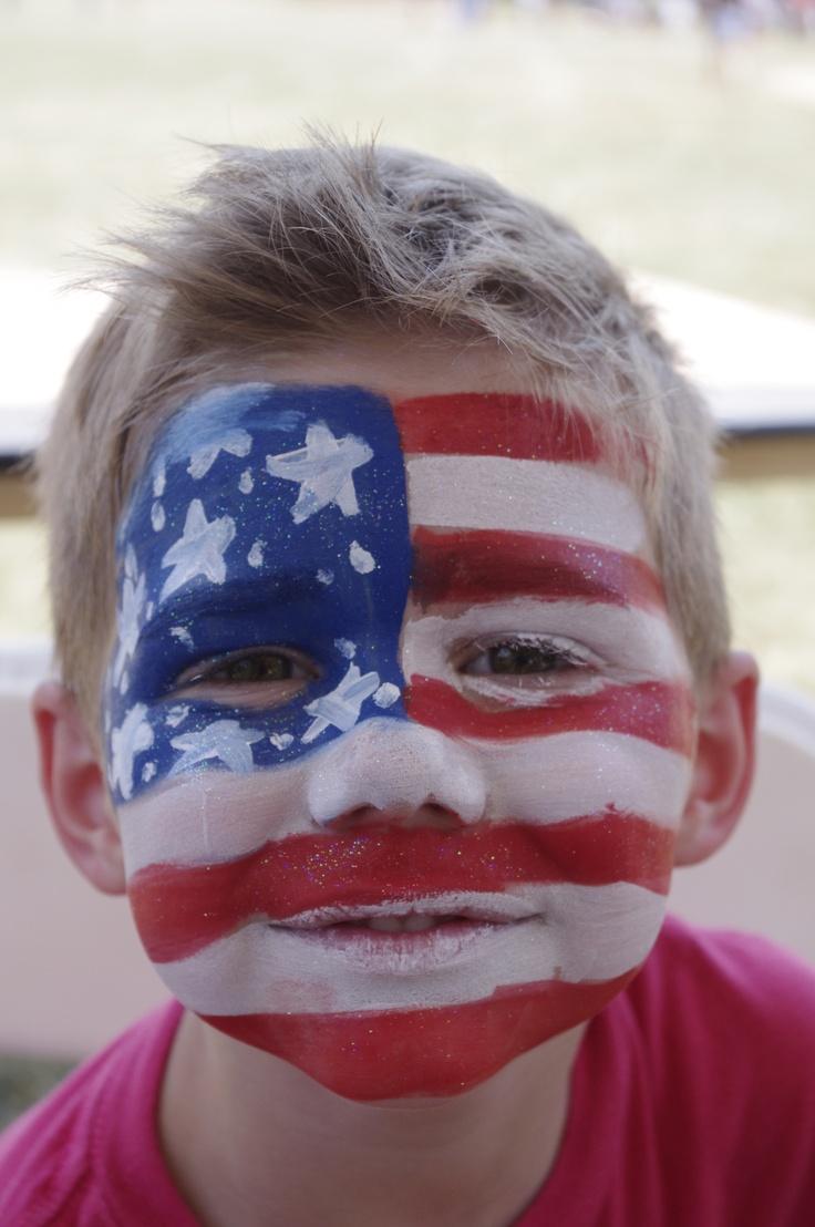 Usa flag face fuck and facial 9