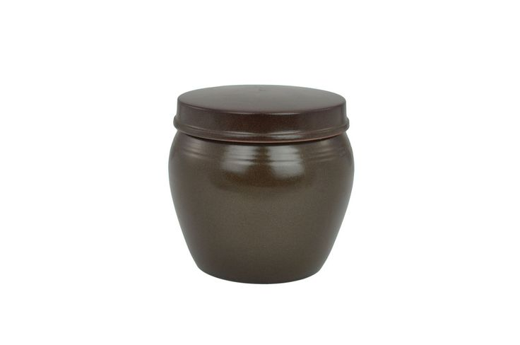 Korean Clay Jar with Lid, Hangari 항아리 (Modern)