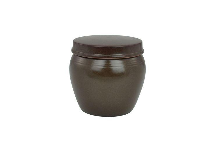 Korean Clay Jar with Lid, Hangari 항아리 (Modern)