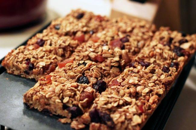 10рецептов вкуснейших завтраков изовсянки Батончики гранолы