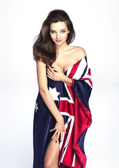 Miranda Kerr for Australia Day Special Edition