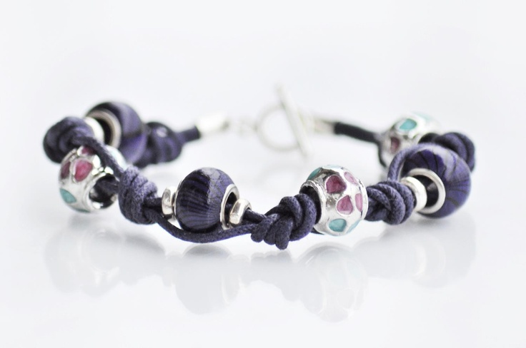 Hand made jewellery; bracelet made by Martyna; find on www.facebook.com/BizuteriaLowyt