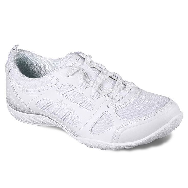 Skechers Relaxed Fit Breathe Easy Good Luck Women's Shoes, White Oth