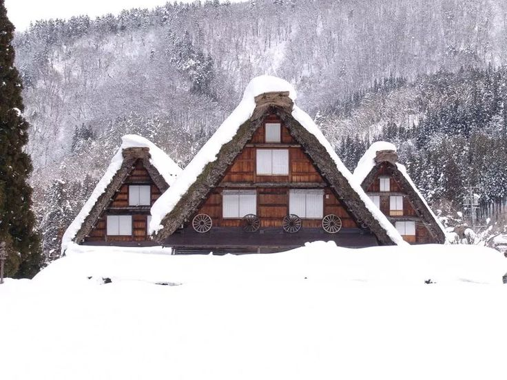 Japan in winter is mysterious not only because of …