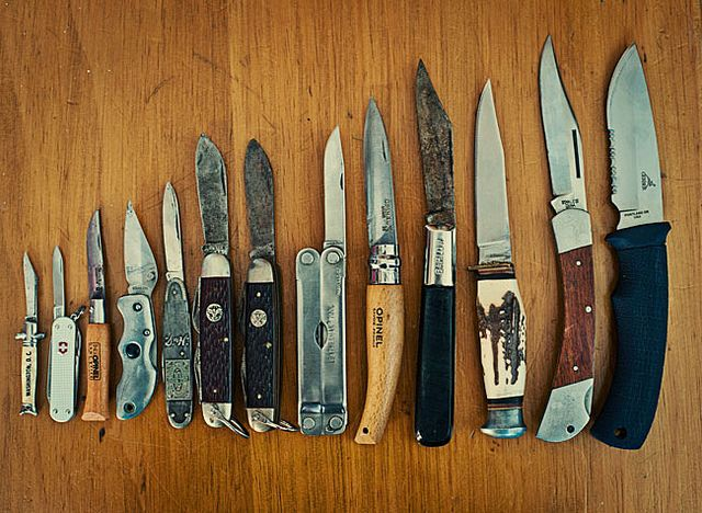 The KnivesOld Schools, Guns, Tools, Stuff, Blade, Weapons, Pocket Knife, Pocket Knives, Collection