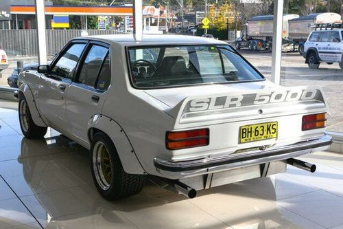 SLR5000 Torana  Rear
