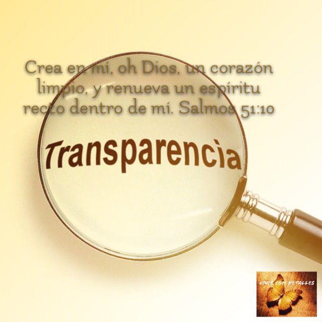 Trasparencia | detalles para ti