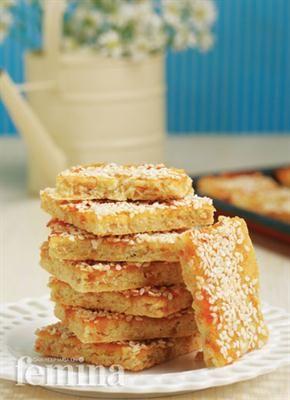 Femina.co.id: Sesame Slices #resep