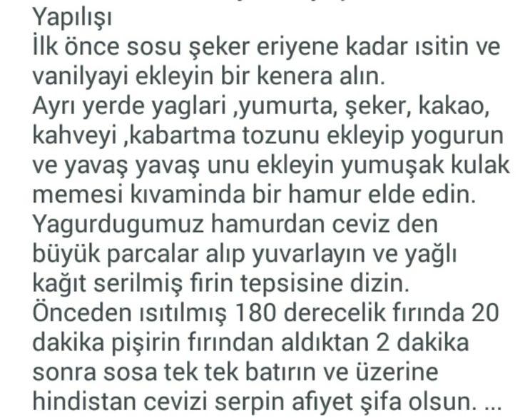 KAHVELİ BROWNİ
