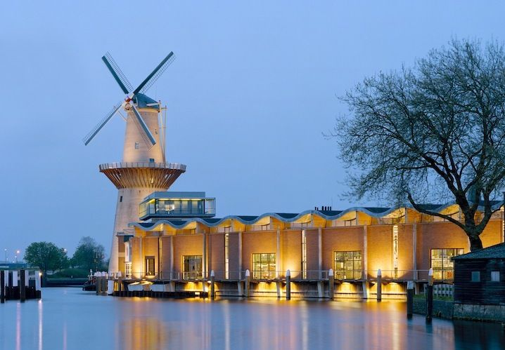 The Nolet Distillery where Ketel One vodka is produced in Schiedam Holland