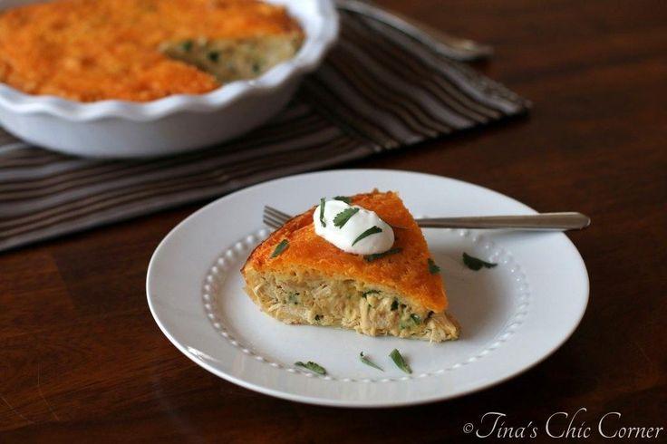 Chicken Quesadilla Pie Recipe