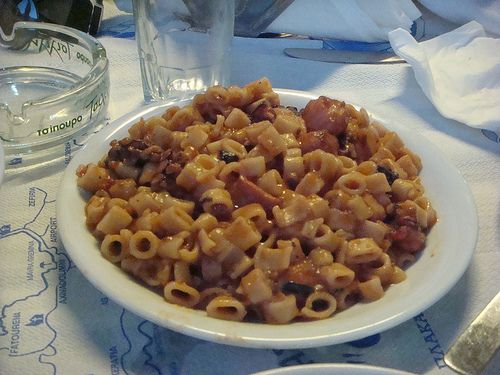 Octopus and Macaroni