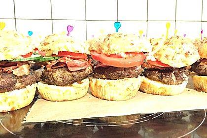 Mini Burger-Muffins