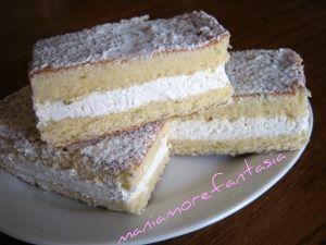 molto invitante ...  da provare Le merendine e la torta (simil) kinder paradiso...