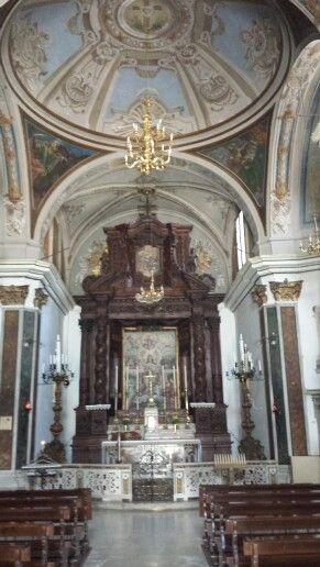 Altare ligneo, Chiesa del suffragio, Pescocostanzo aq.