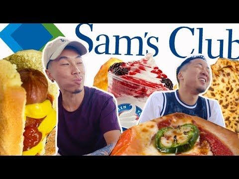 TRYING SAM'S CLUB FOOD COURT! BETTER THAN COSTCO?! // Fung Bros #Costco #food #court   Food ...