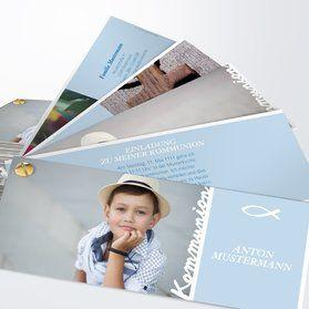 einladungskarten kommunion - selbst gestalten und drucken