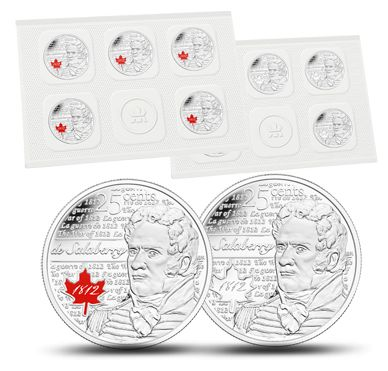 de Salaberry - 25-cent Circulation 10-pack (2013)