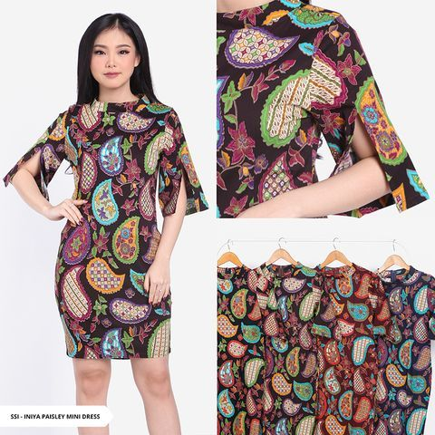Dress Batik Model Terbaru Sorabel By Sale Stock Indonesia Sorabel