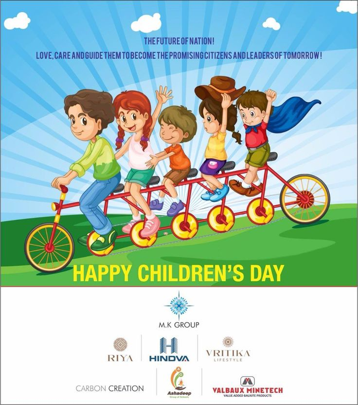 Happy Children's Day   Hindva Builders • M.K Group   #Hindva #ChildrensDay #Greetings