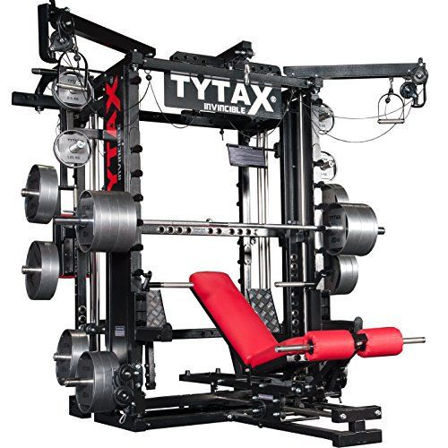 TYTAX-T1-X-ULTIMATE-HOME-MULTI-GYM-MACHINE-FITNESS-EQUIPMENT-BEST-FREE-WEIGHT-PRO-WORKOUT-EXERCISE-BENCH #homegyms #fitness