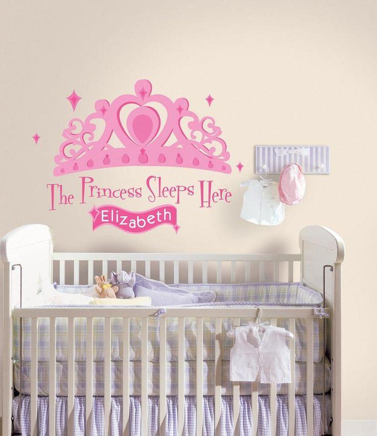 Wall decor for baby girl room