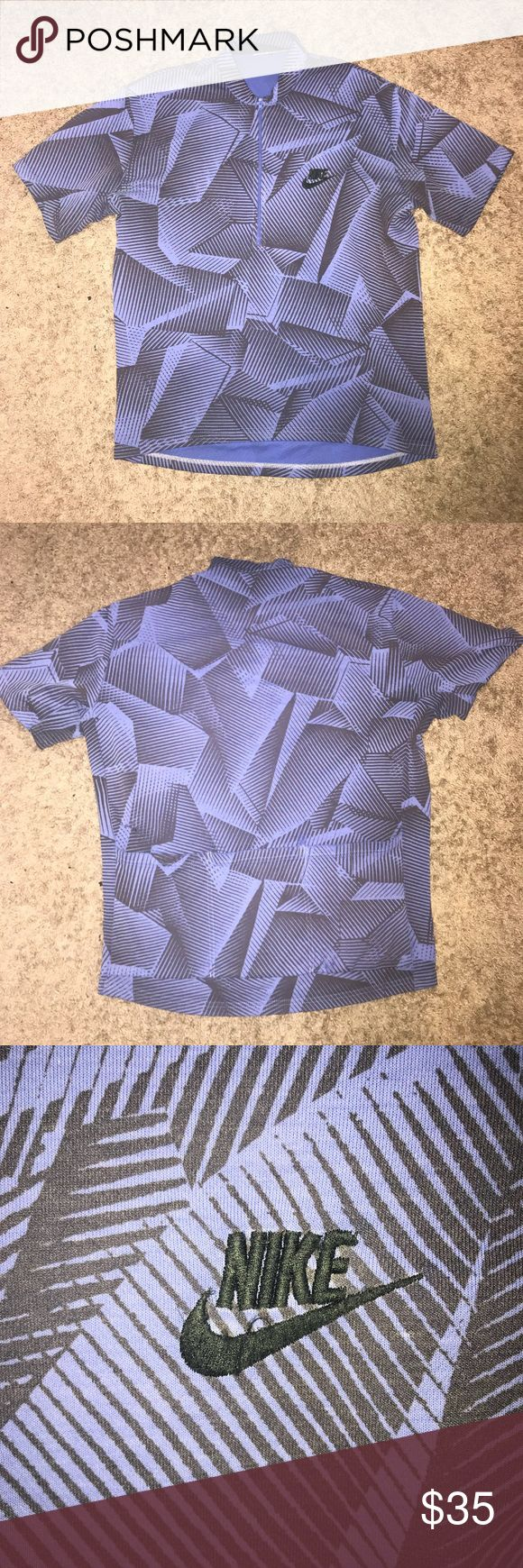 Vintage Nike Cycling Shirt Good condition has no tag, so possibly bootleg but still looks good and very comfortable Nike Shirts Tees - Short Sleeve