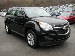 2013 Chevrolet Equinox AWD LS           Vehicle In Transit This vehicle has been shipped from the assembly plant and will arrive in the near future. Please contact us for more details.  Enlarge Photo Add AccessoriesPhotos            14 moreWindow Sticker Request More Information Price  $27,335  Exterior: Gba Black   Engine: 2.4L 4 cyl   Model Code: 1LG26   Dealer Price: Contact Us   Stock Number: LT178   Transmission: Automatic   VIN: 2GNFLCEK5D6226178